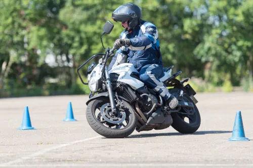 Motorrijbewijspoint Leiderdorp motor rijtest
