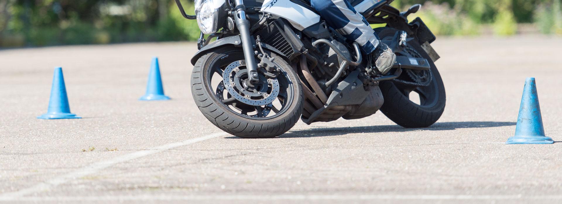 Motorrijbewijspoint Leiderdorp rijtest